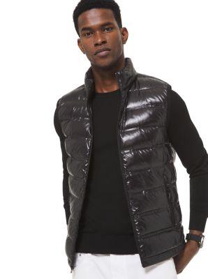 마이클 코어스 맨 퀼팅 조끼 - 3 컬러 Michael Kors Quilted Nylon Vest