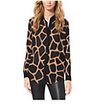 Giraffe-Print Shirt
