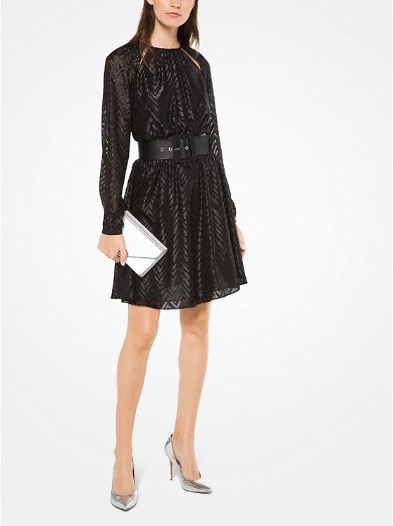 Herringbone Jacquard Dress