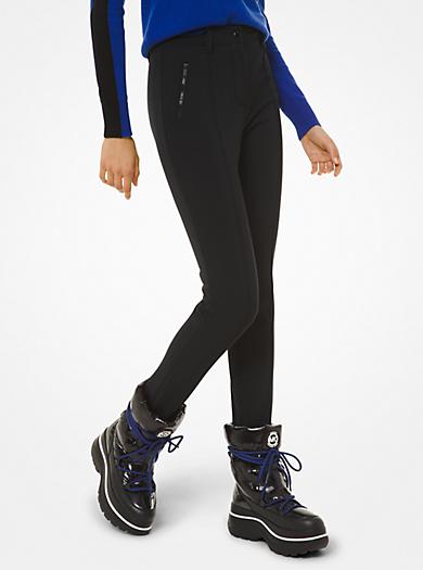 Pantalone da sci a staffa in misto nylon tecnico