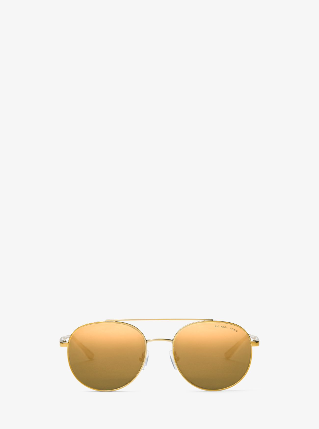 59047e17c Lon Rounded Aviator Sunglasses Lon Rounded Aviator Sunglasses. Michael Kors
