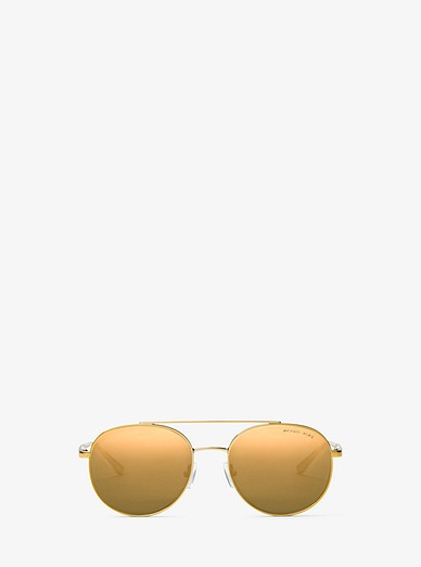 936c2f3943 Lon Rounded Aviator Sunglasses