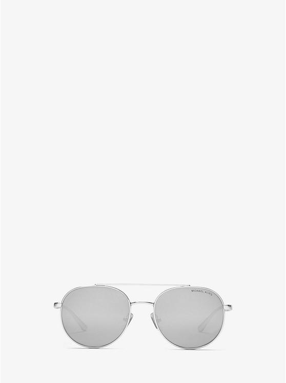 82c14944dbbb Lon Rounded Aviator Sunglasses | Michael Kors