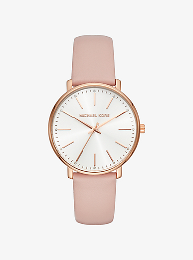 Pyper Rose Gold-Tone Leather Watch ac10f52b65