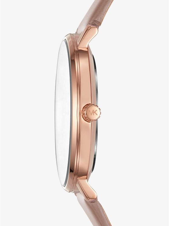 e9df646f9a Orologio Pyper Tonalità Oro Rosa Con Cinturino In Pelle | Michael Kors