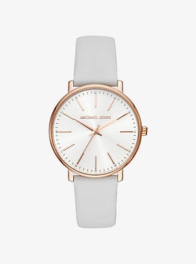 3977f13d8cb6 Reloj Pyper en tono dorado rosa de piel
