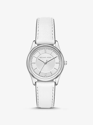 Orologio Colette tonalità argento con cinturino in pelle c923eca9536