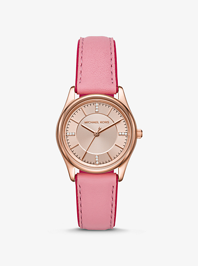 Orologio Colette tonalità oro rosa con cinturino in pelle 75bc83dd6d7