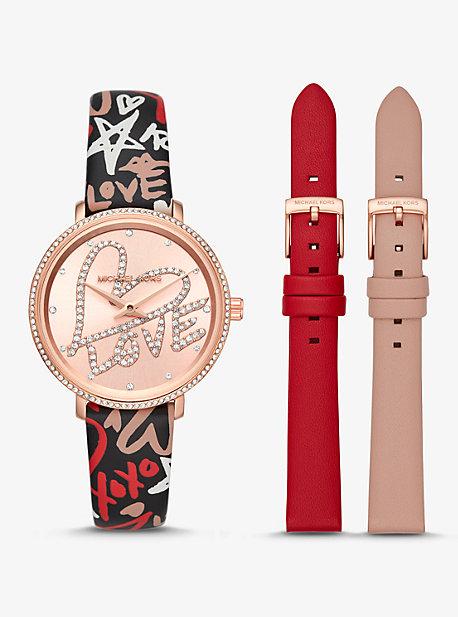 Women's Designer Rose Gold-tone Watches | Watches | Michael Kors