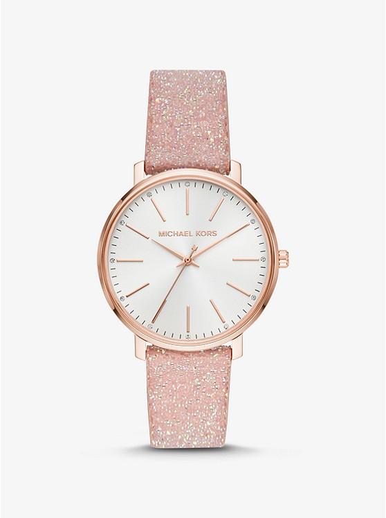Orologio Pyper tonalità oro rosa con cinturino con cristalli Swarovski®