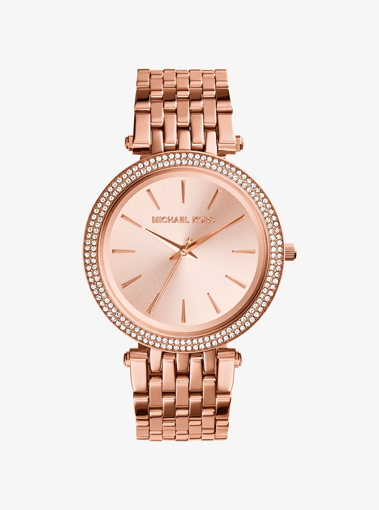 is watch watches r us michael gold kors rose bradshaw tone oversized