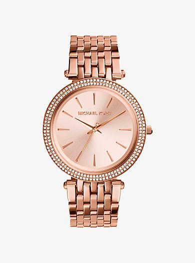 Rose Gold Designer Watches For Women   Michael Kors