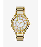 Kerry Pavé-Embellished Gold-Tone Watch