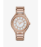 Kerry Pavé-Embellished Rose Gold-Tone Watch