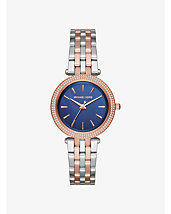 Darci Pavé Two-Tone Watch