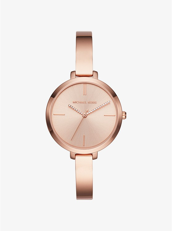 Jaryn Rose Gold Tone Watch Michael Kors