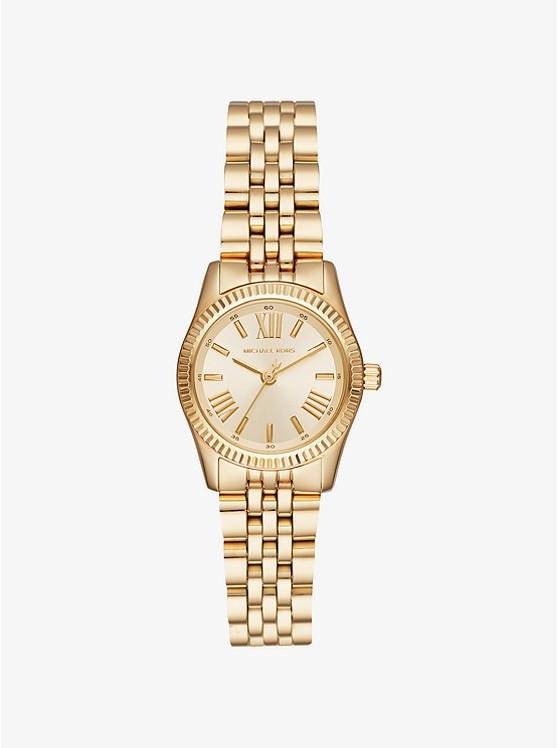 Petite Lexington Gold Tone Watch by Michael Kors