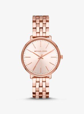 마이클 코어스 시계 Michael Kors Pyper Rose Gold-Tone Watch,ROSE GOLD