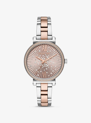 39d71ceae Sofie Pavé Two-tone Watch | Michael Kors