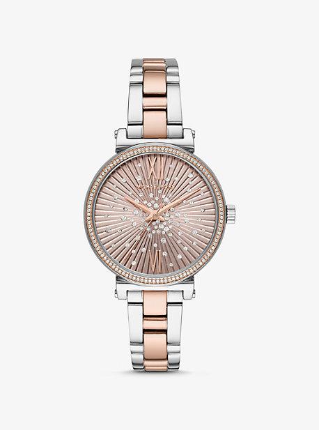 ef2df16060e7 Sofie Pavé Two-Tone Watch