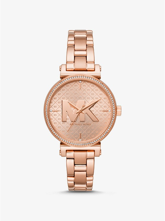 Sofie Rose Gold Tone Watch by Michael Kors