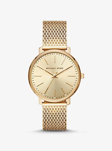 Orologio Pyper tonalità oro con cinturino a maglie c0fe8750700
