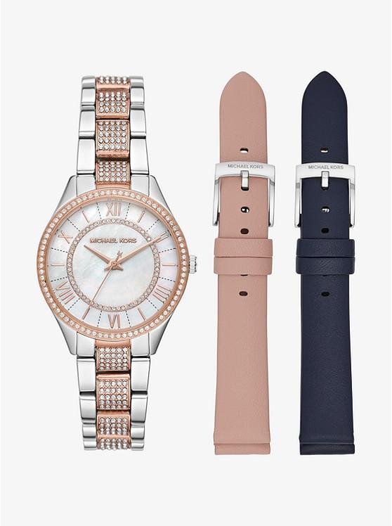 1abcff2899e7 Mini Lauryn Pavé Two-tone Watch Set