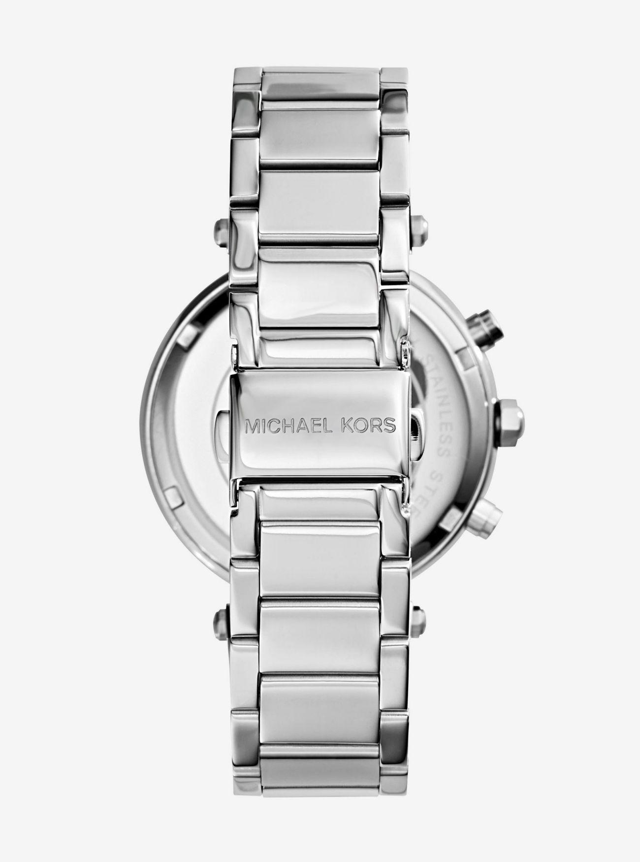 33d757c7a29d ... Parker Silver-Tone Watch Parker Silver-Tone Watch. Michael Kors