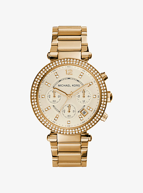 26673ed8a0be3 Parker Gold-Tone Watch