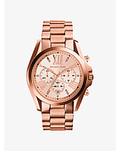 Oversized Bradshaw Rose Gold-Tone Watch