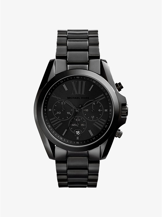 Reloj Bradshaw Oversize En Tono Negro | Michael Kors