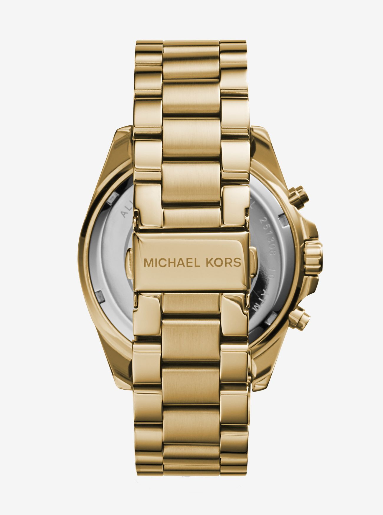 42ca8127f Oversized Bradshaw Gold-tone Watch | Michael Kors