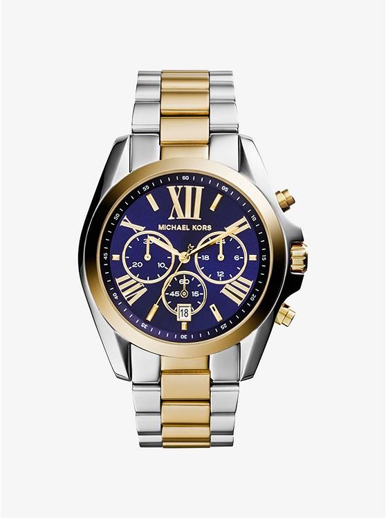 1cfcdd886564 Reloj Bradshaw Oversize En Dos Tonos