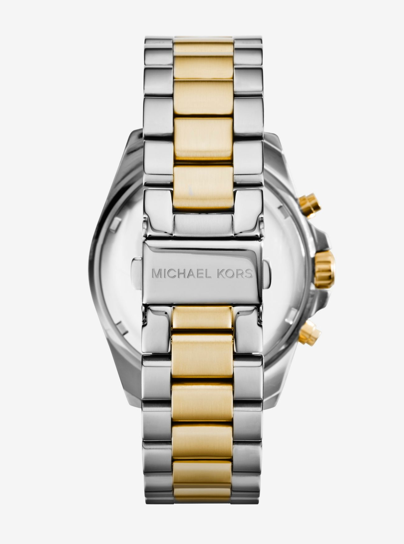 e12fc1f1c4da ... Oversized Bradshaw Two-Tone Watch Oversized Bradshaw Two-Tone Watch. MICHAEL  KORS