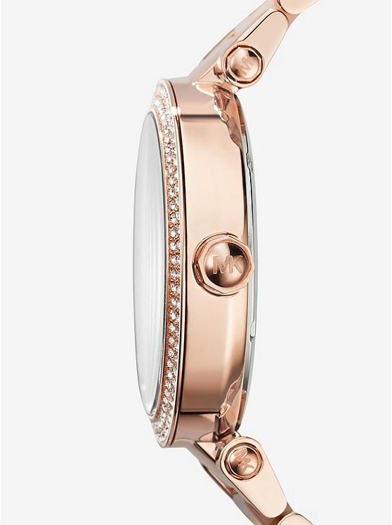6e40511a5979 ... Parker Pavé Rose Gold-Tone Watch ...