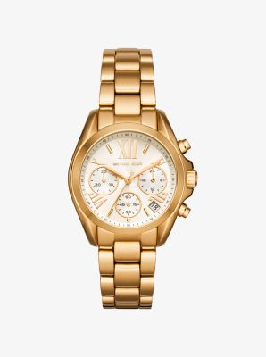 마이클 코어스 시계 Michael Kors Bradshaw Gold-Tone Watch,GOLD