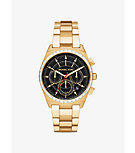 Vail Gold-Tone Watch