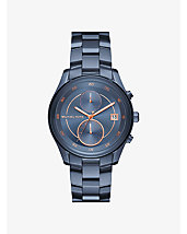 Briar Navy-Tone Watch