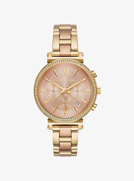 b41e0e0d9af Sofie Pavé Rose Gold-tone Watch