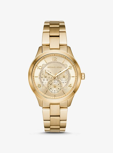 5aab1e7557c04 Runway Gold-tone Watch