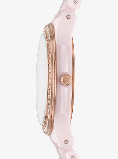 d7ecd918b Petite Runway Pavé Ceramic Watch. Petite Runway Pavé Ceramic Watch. MICHAEL  KORS