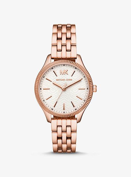 49499827f4d9 Mini Lexington Rose Gold-Tone Watch · michael kors ...