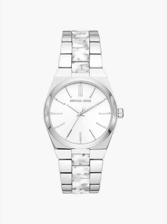 0b14f29284b5 Channing Silver-tone And Acetate Watch