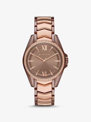 마이클 코어스 시계 Michael Kors Whitney Two-Tone Watch,TWO TONE