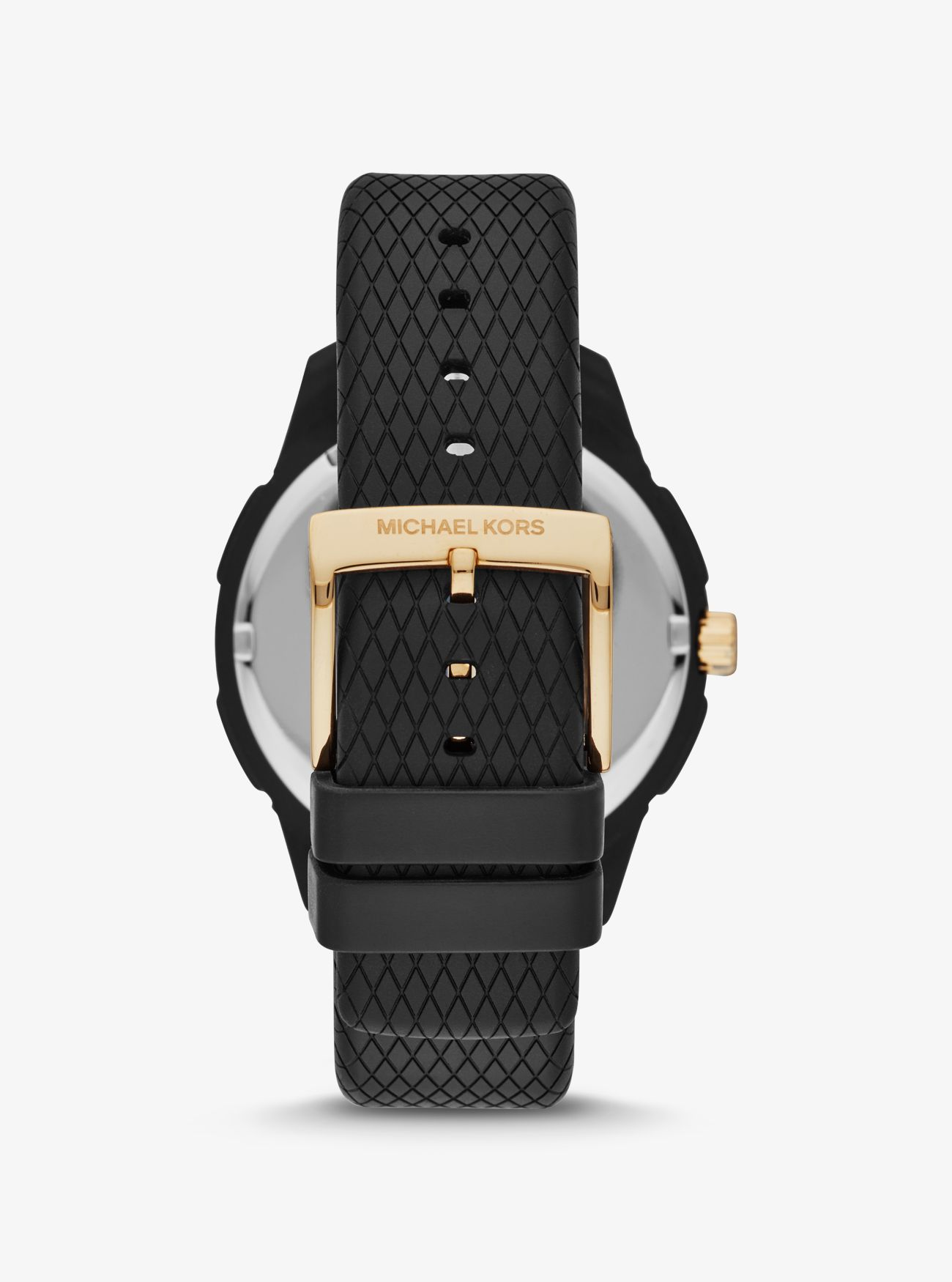 Animal Instincts Watch Online ryder embossed silicone and gold-tone watch
