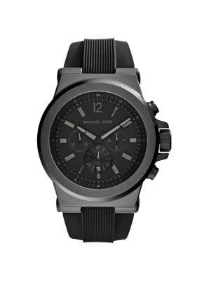 d217b49605b7 Dylan Black Stainless Steel Oversized Watch
