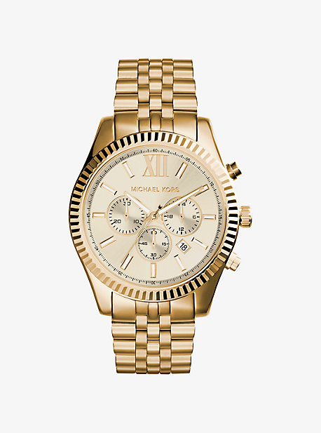 191029b1829 Lexington Gold-tone Watch