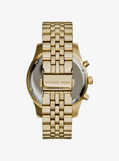 c5de63d78fc8 Oversized Lexington Gold-tone Watch