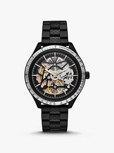 0549f9f3204f Oversized Merrick Black-Tone Watch
