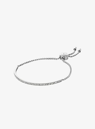 f80bd811596b Pavé Silver-Tone Bracelet · michael kors ...